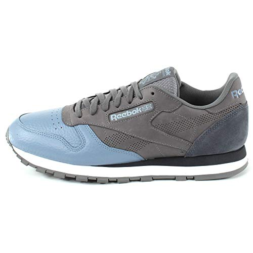 Classic Sneakers multicolore da uomo Reebok Cloudsoft Ue Blackwhite Leather sharkrain 1qtt6d