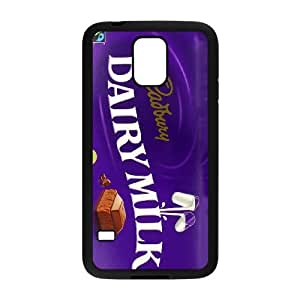 Samsung Galaxy S5 Phone Case Black Dairy Milk NJY8744238