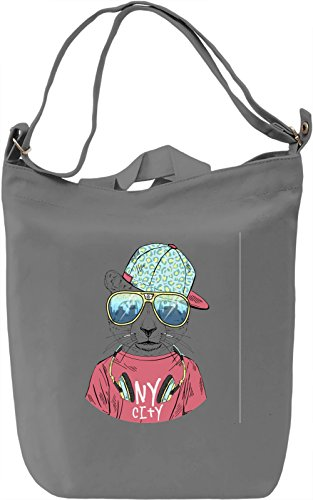 Cat in style Borsa Giornaliera Canvas Canvas Day Bag| 100% Premium Cotton Canvas| DTG Printing|