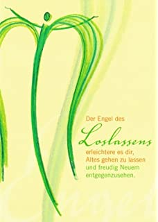 """Postkarte Besinnliches /""""Der Engel der Tapferkeit/"""""""