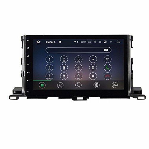 BoCID Quad Core 10.1'' Android 7.1 Car DVD Player for Toyota Highlander 2015 With 2GB RAM Radio GPS WIFI Bluetooth USB DVR 16GB ROM by BoCID (Image #4)