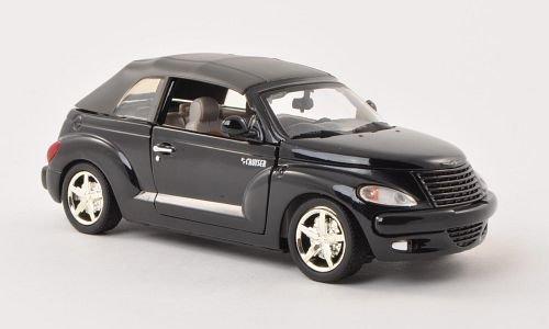 Chrysler PT Cruiser Convertible, black, 0, Model Car, Ready-made, Motormax 1:24