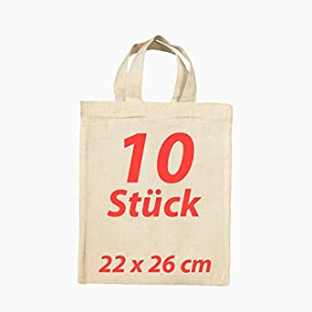 FolderSys - Bolsa de tela para farmacia (algodón, con 2 asas cortas, 10 unidades): Amazon.es: Ropa y accesorios