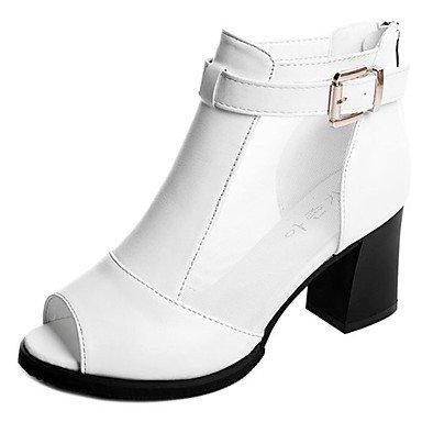 De Caminar US6 Heelblack 5 5 Blanco Chunky UK4 Pu CN37 Mujer 7 Verano Casual RTRY Confort 5 Zapatillas amp;Amp; Flops Flip EU37 qC6Wxw5A7