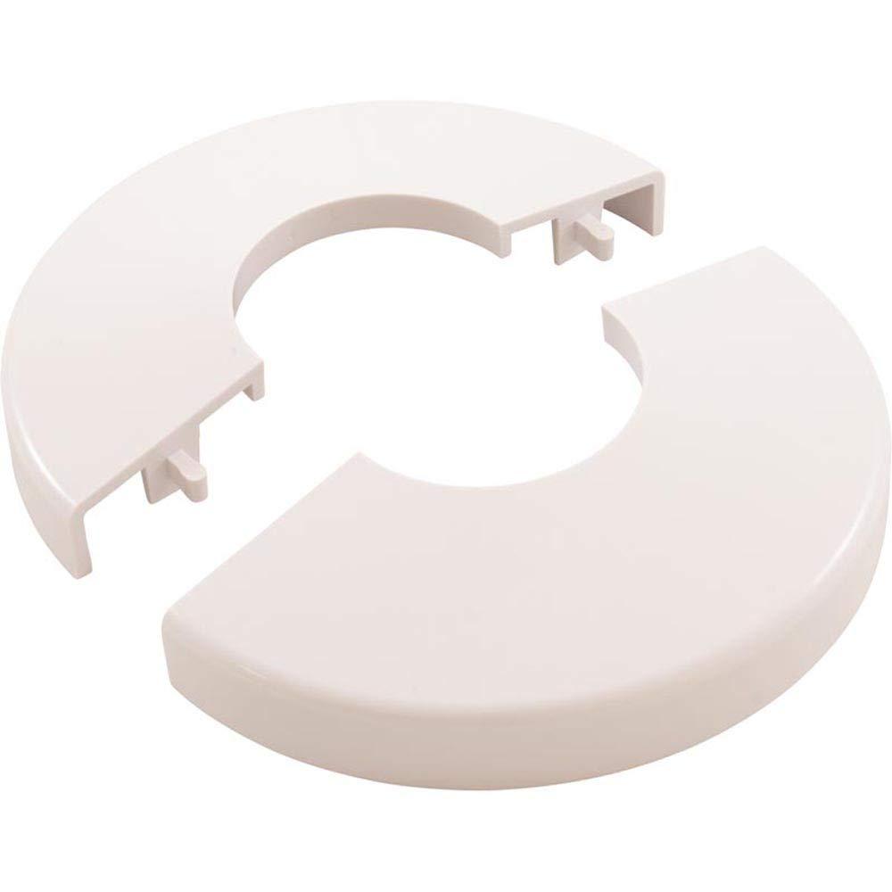 Escutcheon White Snap-On Snap Tite Hand Rail Base Trim Cover
