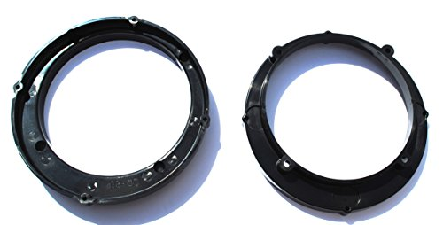 5.25 TO 6.5 Motorcycle Speaker Adapter Pair Rings Fitted For Victory XC Cross Country 2007 2008 2009 2010 2011 2012 2013 2014 2015