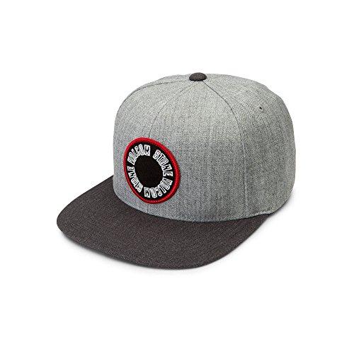 Volcom Men's Cresticle Snapback Hat, Grey Combo, O/S ()