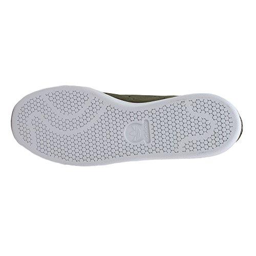 Adidas Stan Smith Manar Tillfälliga Gymnastikskor Vaxartad Grön / Vit / Camo