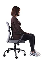 Aboval Orthopedic Back Stretcher Device Lumbar Traction Support Multi-level Posture Corrector Acupuncture Therapy for Lower Back Pain Relief