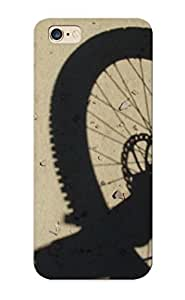 Durable Case For The Iphone 6 Plus - Eco-friendly Retail Packaging(mountain Bike Wheel )