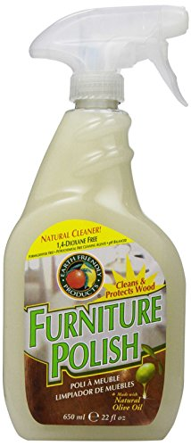 Earth Friendly Products Furniture Polish with Olive Oil, 22-Ounce (Pack of 2)