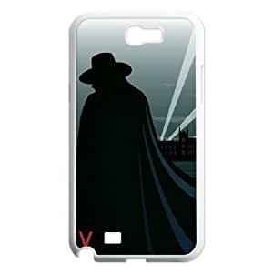 J-LV-F V for Vendetta Phone Case For Samsung Galaxy Note 2 N7100 [Pattern-4]