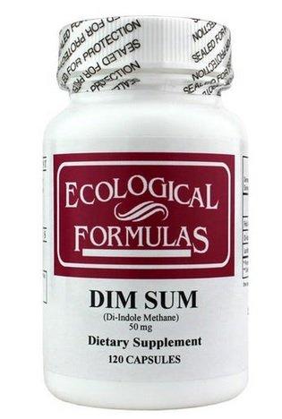 Ecological Formulas DIM Sum, 50 mg, 120 Capsules by Ecological Formulas