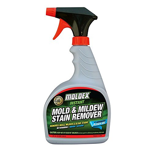 Moldex 7010 Mold & Mildew Instant Stain Remover Trigger Sprayer, 32 oz - Pack of 3 (Remover Trigger Sprayer)