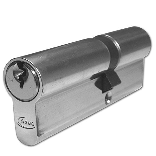 Asec Euro Double Lock Cylinder .....Size 35/10/50 .....NP by Asec