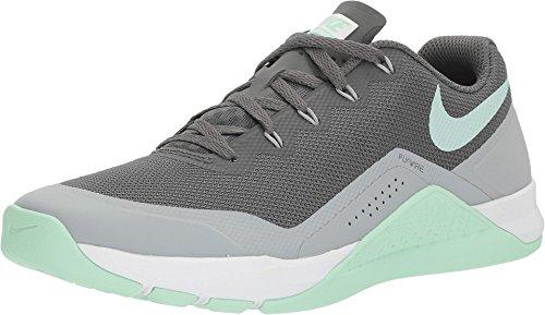 Nike Women's Metcon Repper DSX Training Shoe, Dark Grey/Arctic Green, 8.5