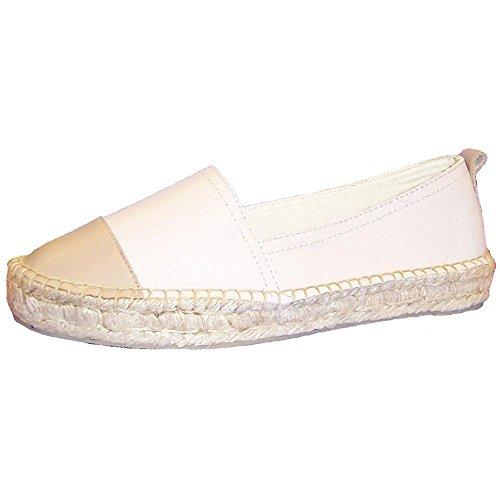 Kenneth Cole Espa Zee Women's Espadrille Shoes RL06365LE-VAA Size 6 B (Standard Width) Vanilla/Almond