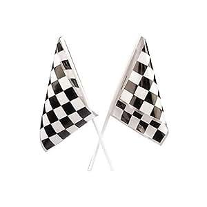 Fun Express Plastic Racing Flags Bulk Novelty (6 dozen)