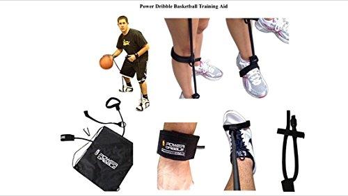 Power Dribble Basketball Resistance Training Tool for Ball Handling Skills (2 Power Dribbles)