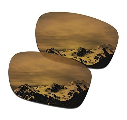 SmartVLT Men's Bronze Gold Replacement Lenses for Oakley Holbrook - Your Does Sunglasses Protect Eyes