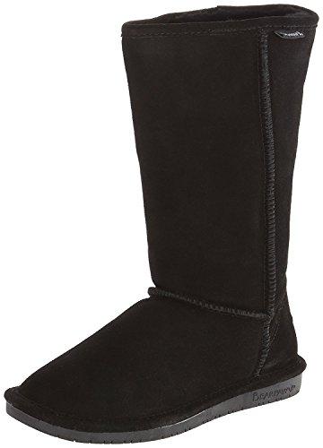 Bearpaw Kvinna Emma Tall Boot (5 B (m) Oss, Svart Mocka)