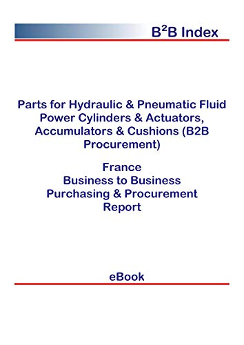 Parts for Hydraulic & Pneumatic Fluid Power Cylinders & Actuators, Accumulators & Cushions (B2B Procurement) in France: B2B Purchasing + Procurement Values