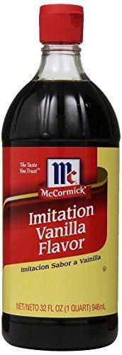 3 X McCormick Imitation Vanilla Flavor, 32 Ounce ()