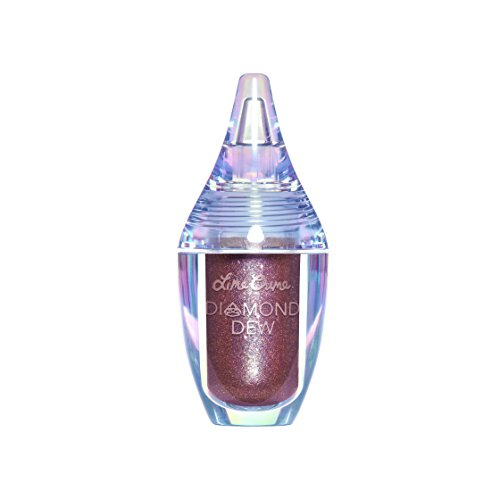 Lime Crime Diamond Dew Glitter Eyeshadow (Vision). Iridescent Lid Topper (Mauve Iridescent 0.14 fl oz).