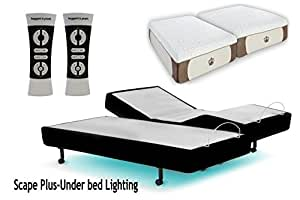 Amazon Com Scape Plus Performance Adjustable Beds Built