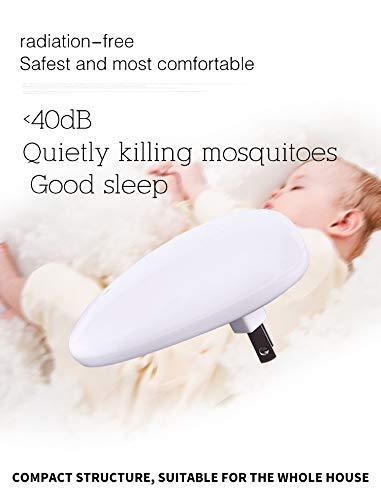 LAPPAZO Repelente Ultrasonico de Plagas Antimosquitos Pest Reject Control Repelente Ratones Hormigas Cucarachas Insectos Moscas (4Packs)