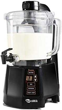 NutraMilk BRNMC2LNA Nut Milk Butter Processor-64 oz, 64 oz