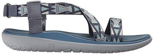 T Donna Mvbl float Tacco Blu Col Terra Scarpe Livia Teva mosaic Con Blue Vintage Mvblmosaic Cinturino A zBwvqAnWn