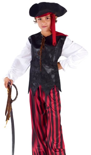 Caribbean Pirate Kids Costume -