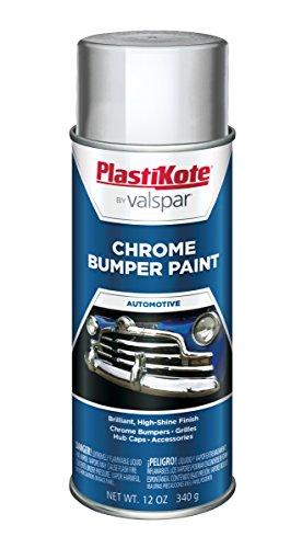 PlastiKote 615 Chrome Bumper Paint - 12 Oz.