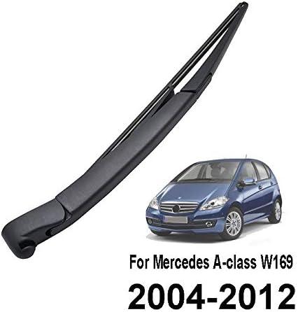 X AUTOHAUX Braccio tergicristallo posteriore per auto colore: Nero 315 mm
