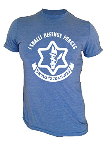 "Price comparison product image Krav Maga Tri-blend T-shirt - Krav Maga Shirt ""IDF 1.0"" (XL, Vintage Blue)"