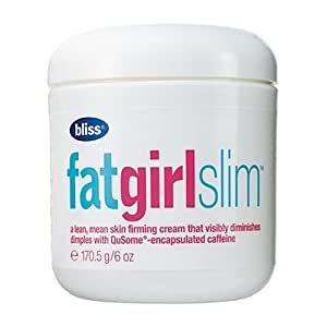 Bliss Fat Girl Slim 6oz,170.5g Bath Body Slimming Firming Fitness Care
