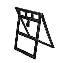 Two-way Screen Door Pet Access Snap Flap Gate Way Pet Door for Screens