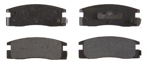 ACDelco 17D448 Professional Organic Rear Disc Brake Pad Set (Trooper Brake Rear Pad)
