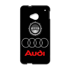 DIY Printed Audi hard plastic case skin cover For HTC One M7 SNQ302254