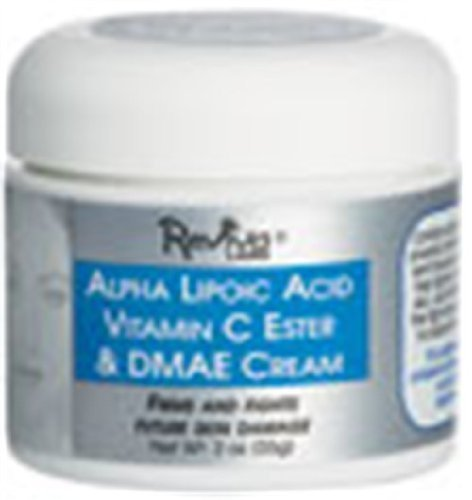 Alpha Lipoic-Night Cream Vit C Ester and DMAE Cream 2 Ounces