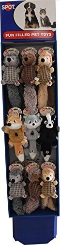 Ethical Dog 54155PW 27 Piece Assorted Hedgehog and Crinklers Powerwing