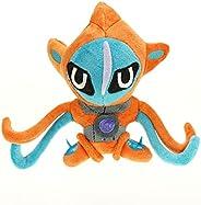 Deoxys: Plush Toys 15 cm Cartoon Plush Stuffed Animal Toys, Cute Plush Dolls, Soft Plush Dolls, for Children