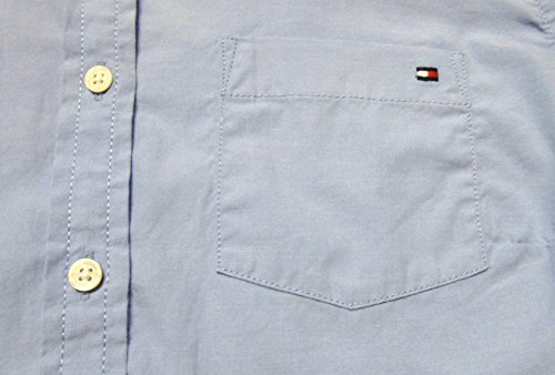 Tommy Hilfiger Womens' Cotton Woven Solid Dress Shirt Blouse