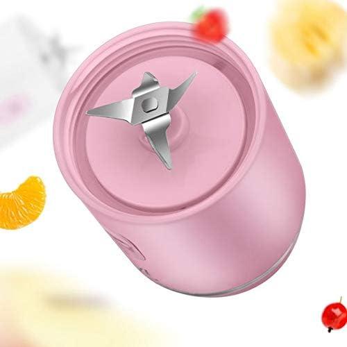 ECSWP Exprimidor de Fruta, Fruta portátil Licuadora Exprimidor Copa, Jugo Mezclador eléctrico Recargable de la máquina 300ML