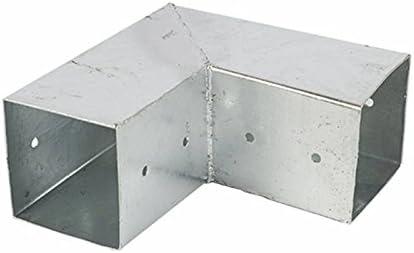 Postes Conector, poste esquina para 2 cantos Vigas de madera 12 x ...