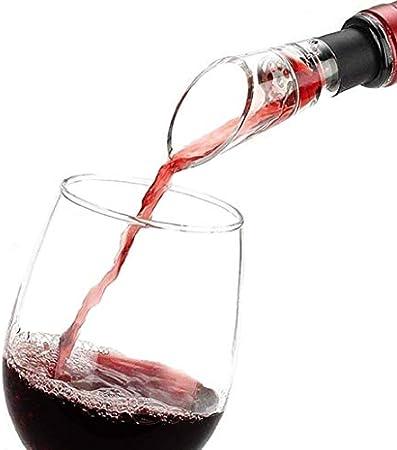 Aireador de vino, disfruta de una mejor calidad, disfruta del secreto del sabor, vertedor de vino rojo, decantador, verter rápido de vino