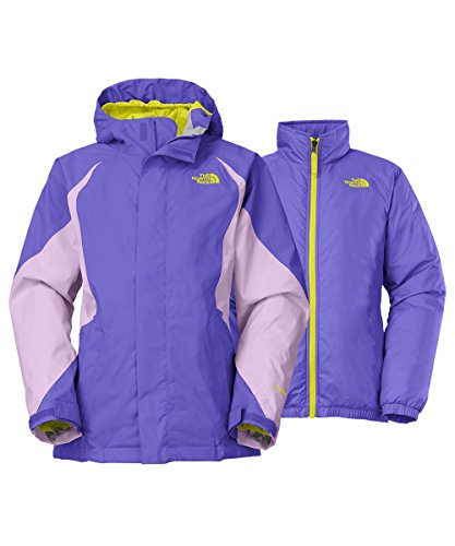 The North Face Kira Triclimate Jacket Girls Starry Purple L14/16 by The North Face