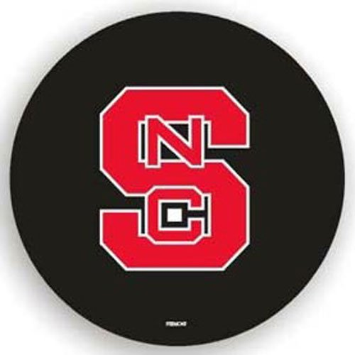 State Tire Cover (Fremont Die NCAA North Carolina State Black Spare Tire Cover, One Size, Multicolor)