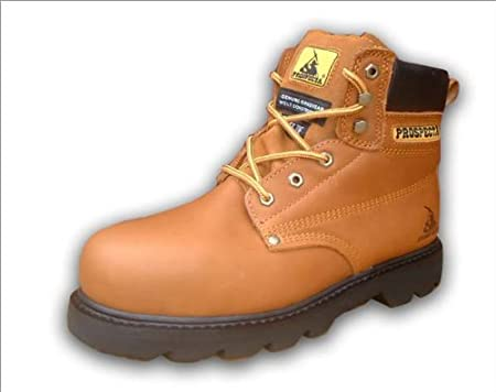 e6717a00c6c Prospecta Steel Toe Cap Safety Work Boots - Size 9: Amazon.co.uk ...